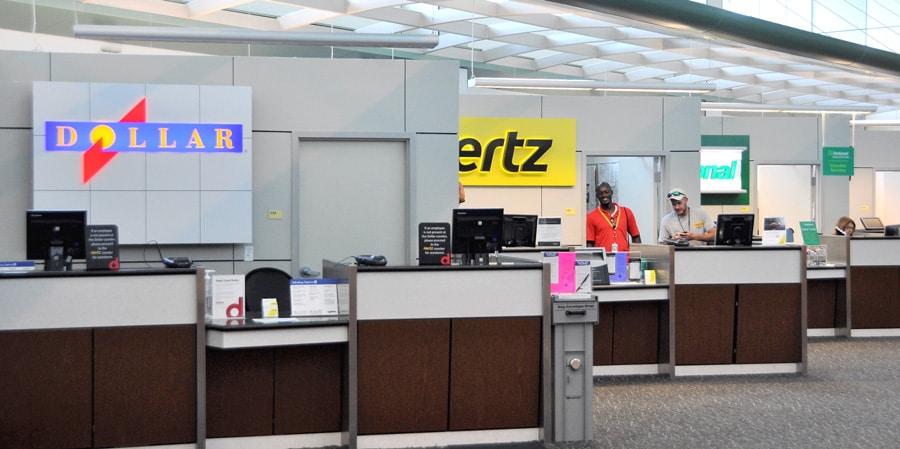 Gulfport-Biloxi Airport - Car Rental Desks