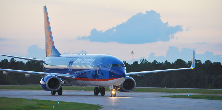Gulfport-Biloxi Airport - Sun Country Airlines