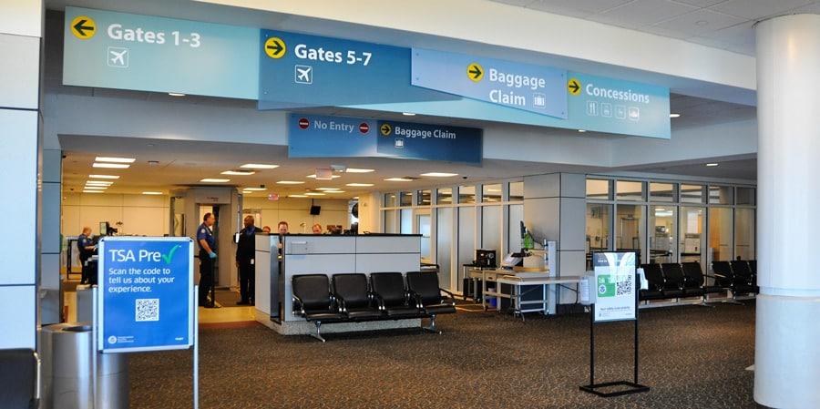 Gulfport-Biloxi Airport - TSA - Security