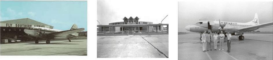 Gulfport-Biloxi Airport - History