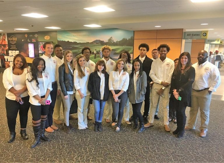 Gulfport-Biloxi Airport Community Relations - Student Tour
