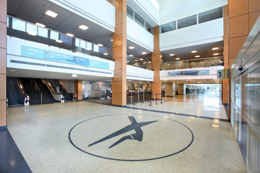 Airport Lobby - Gulfport–Biloxi International Airport - Fly GPT